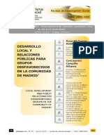 Desarrollo Local y RRPP