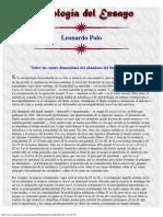 Leonardo Polo, Antología Del Ensayo Hispánico