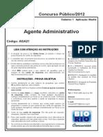 Agente Administrativo Cad 1 (Mesquita)