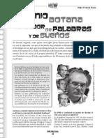 Entrevista. Antonio Botana Forjadores de Palabras y Sueños
