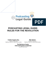 Creativecommons Podcasting Legal Guide Eng