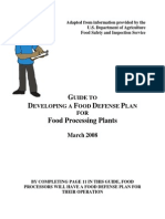 Guide Food Processing
