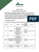 Edital 60-2014 Concurso Público Docente