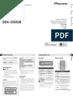 Operating Manual (Deh-4350ub) (Deh-3350ub) - Eng - Esp - Por