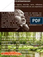 Presentación1 sistematizacion