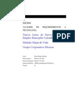MD060 - Análisis de Requerimientos HV-242