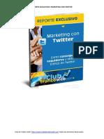 Reporte Marketing Con Twitter