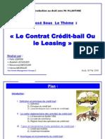 Obiblio Fr 342 Expose de Droit Credit Bail