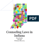 indiana counseling laws