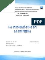 Informática en La Empresa