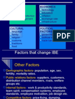 2- Factors Changing IBE, Economic Growth Impact