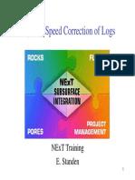 petrophysict 02 Speed Correction