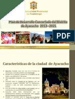 Plan de Desarrollo Concertado Ayacucho