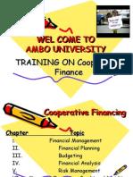 Cooperative Financing 5