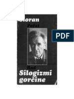 Emil Sioran - Silogizmi Gorčine