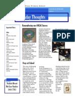 Newsletter 08-05-2014
