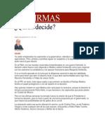 05-05-2014 Milenio.com - Quién decide..