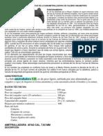 Funcionamiento y Caracteristicas de La Subametralladora Uzi Calibre 9 Milimetros