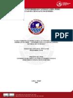 2006 Caracteristicas Sismicas de Las Contrucciones de Tierra en El Peru. Constribucion a La Enciclopedia Mundia de Vivienda