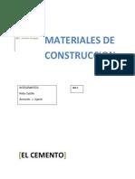 Materiales El Cemento 100 Imprimr