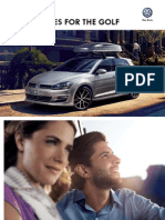 Volkswagen Golf 7 Genuine Accessories