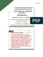 Presentación de Pais Nicaragua