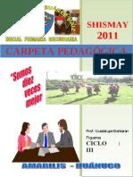 Carpeta Pedagógica (i.e. Mauricio Suárez Maíz- Shismay)