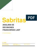 Analisis de Decisiones Financieras