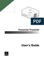 Projector Manual 4977