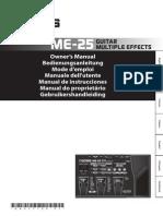 Manual ME 25