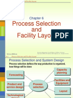 Process Selection and Layout