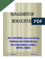 Management of Dengue Fever Ppt