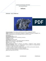 Petrología Sulfuros
