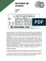 8577100 Placa de Datos Motores TrifC3A1sicos