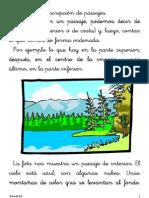 La descripción de paisajes