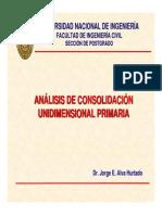 4. Análisis de Consolidación - Capacidad Portante