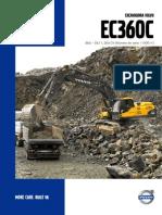 Excavadora Volvo Ec 360