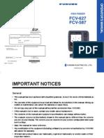 FCV587 FCV627 Operator's Manual D 3-12-12