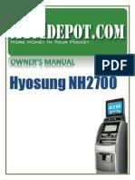 NH-2700 Operator Manual