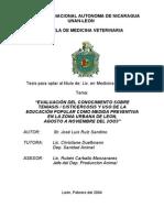 Proyecto de Tesis Teniasis-Cisticercosis Jose Luis Ruiz Sandino