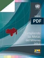 Venezuela y Las Metas Del Milenio