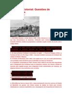 Questões Amazônia Colonial