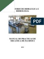 Manual de Laboratorio de Hidraulica e Hidrologia 2013