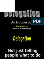 20091110 - Delegation -  An Introduction -