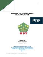 Panduan Skripsi PGSD