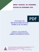 Microzonificacion de Huaraz