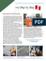 April 2014 Newsletter Fitting In