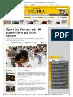 Nueva Ley Universitaria_ 10 Puntos Claves Que Debes Conocer _ El Comercio Perú