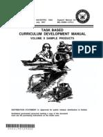 NAVEDTRA 130A2 Task Based Curriculum Development Manual Vol II Samples