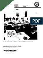 NAVEDTRA 134 Navy Instructor Manual